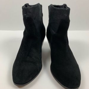 BCBGeneration Genuine Leather Suede Black Boots